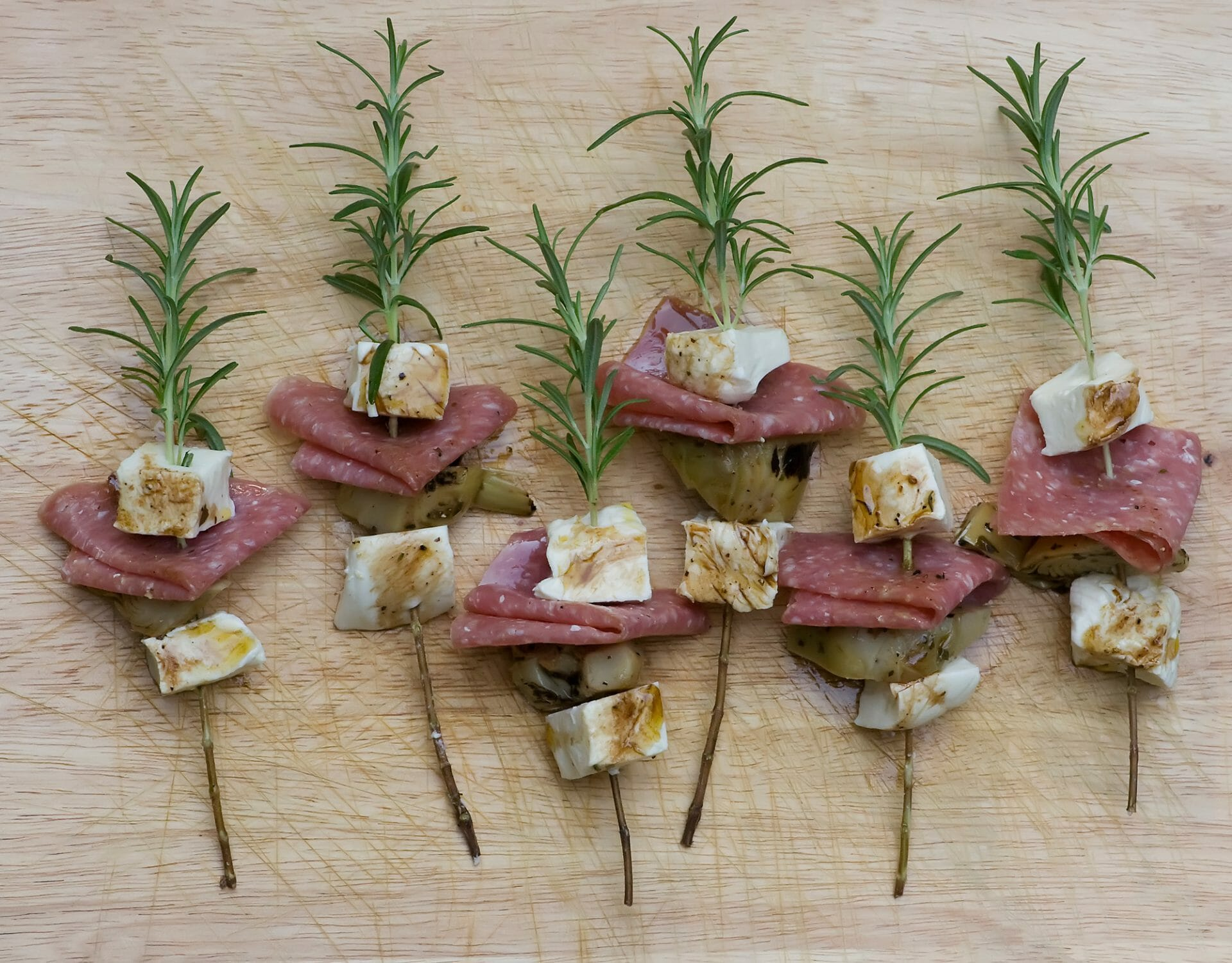 rosemary skewers appetizer