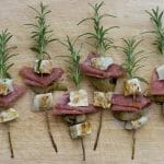 easy rosemary skewers