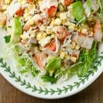 how to make coconut shrimp salad