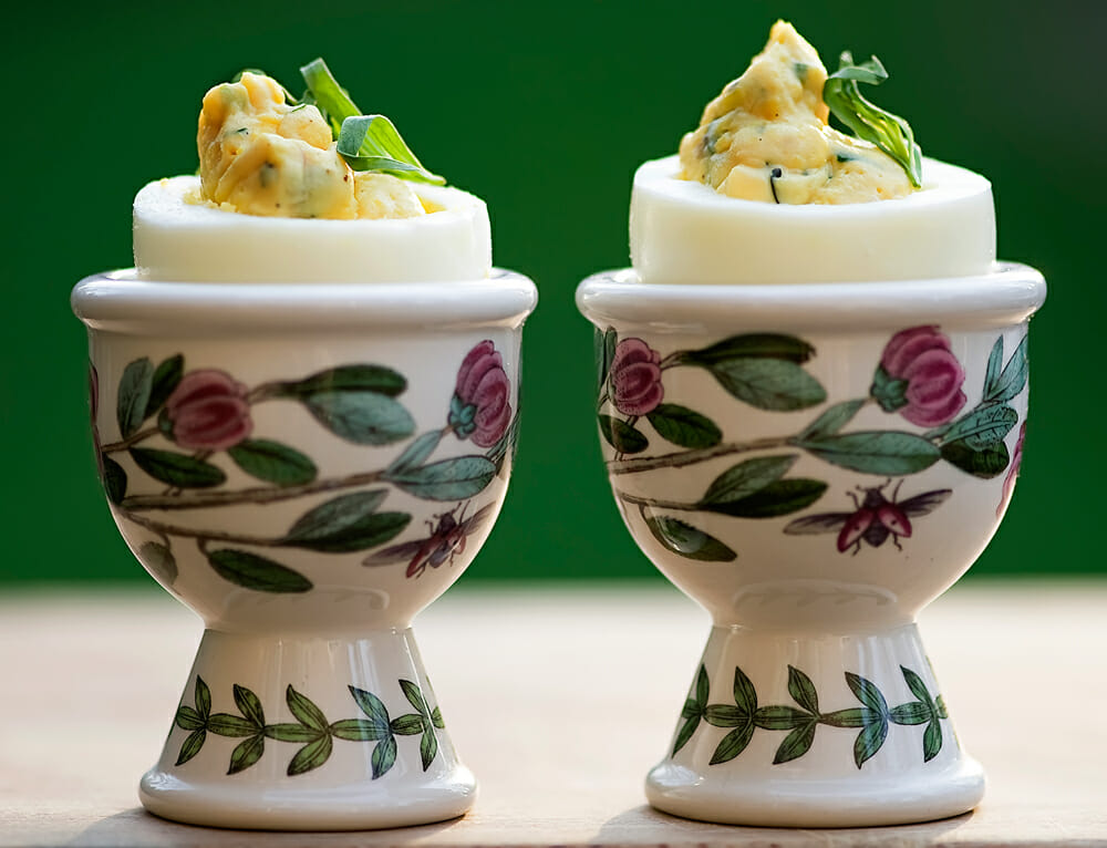 deviled eggs with tarragon