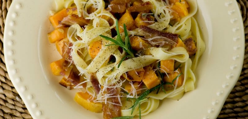 easy sweet potato pasta