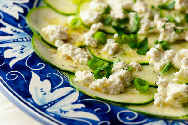 how to make Zucchini Carpaccio