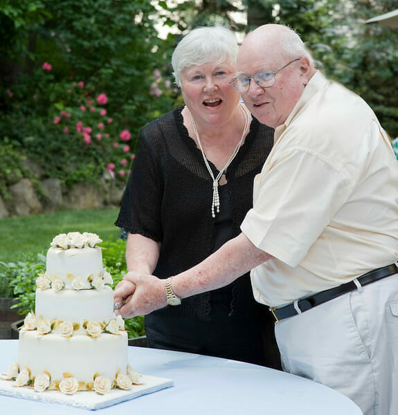 50th anniversary couple