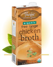Pacific chicken broth