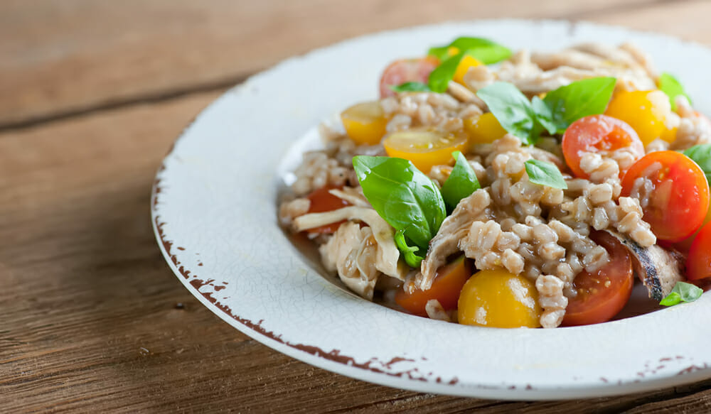 farro chicken salad