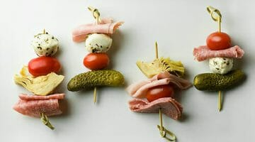 how to make antipasto skewers