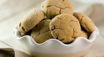 brown sugar crinkle cookies