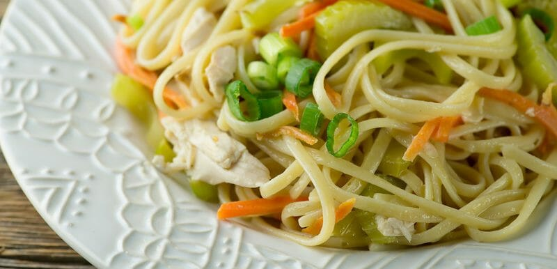 chicken noodle salad