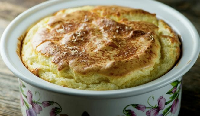 No Fear Cheese Souffle