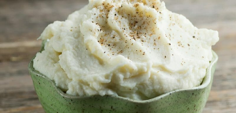 easy whipped cauliflower