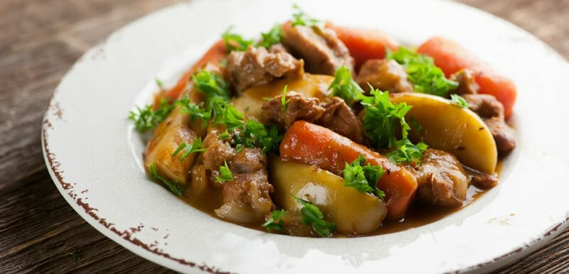 Veal Stew with Apples