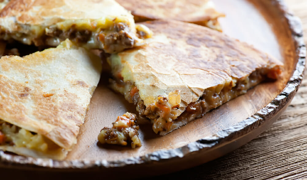 Shepherd's Pie Quesadillas