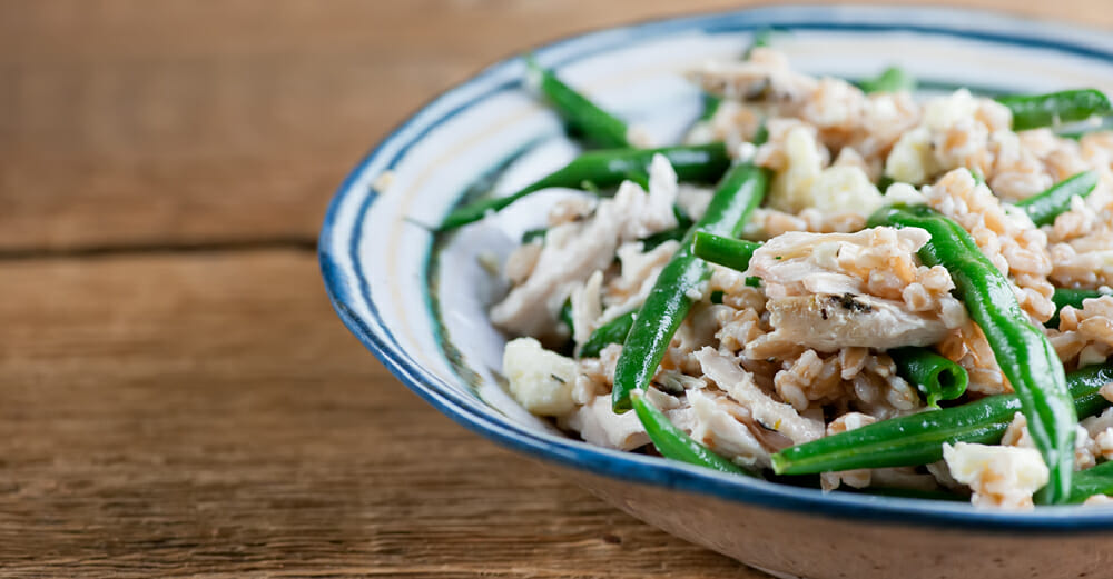 Warm Chicken and Green Bean Salad