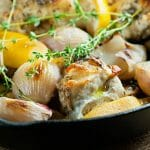 Easy Roasted Lemon Herb Chicken