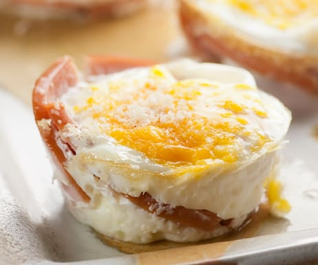 Bacon egg muffins