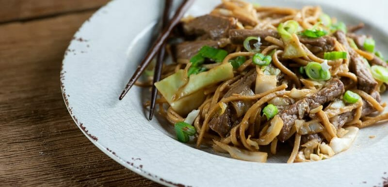 Easy Beef Noodle Stir-Fry