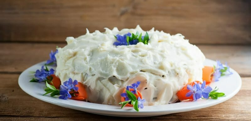 Mama's Best Carrot Cake