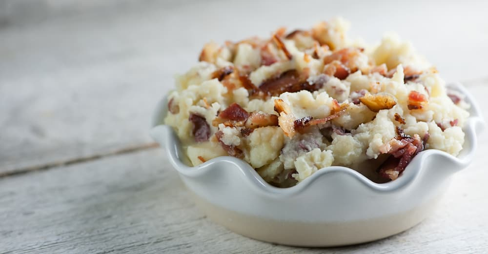 smashed bacon potatoes