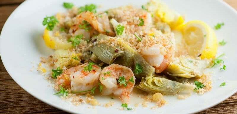 lemon shrimp scampi