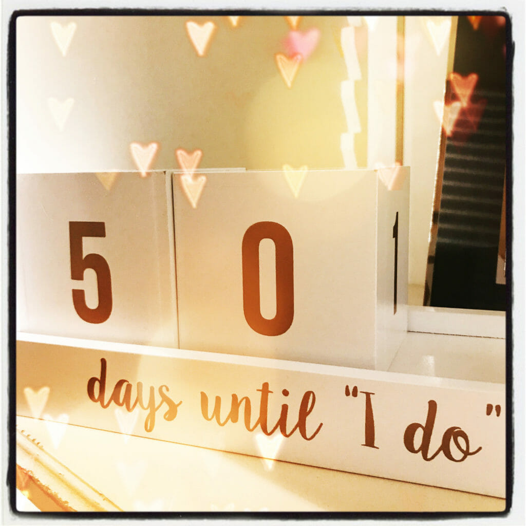 wedding countdown