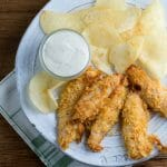 easy potato chip chicken fingers