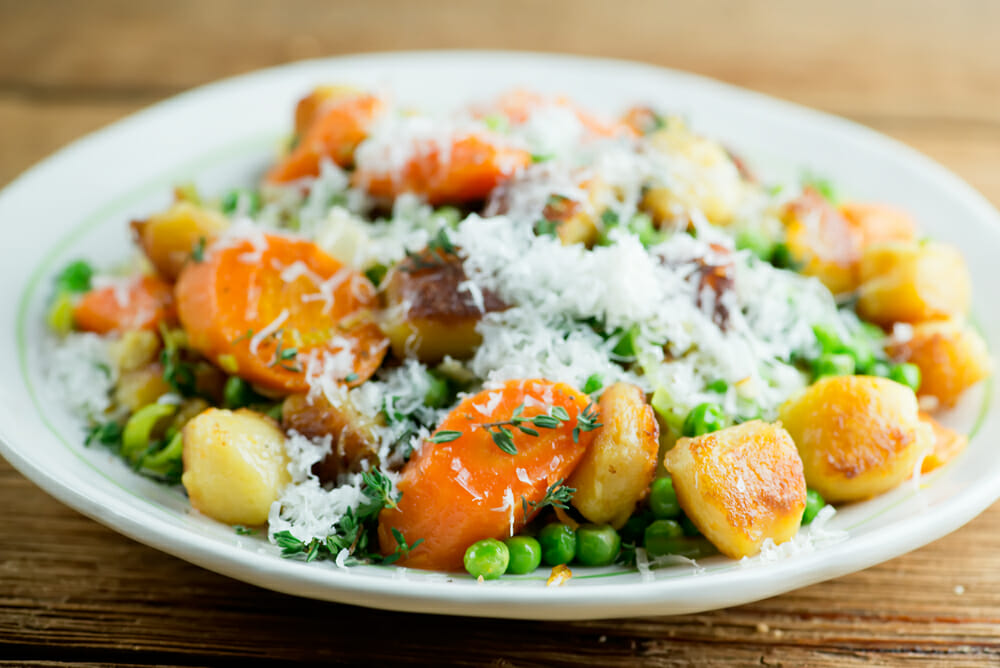 gnocchi with veggies