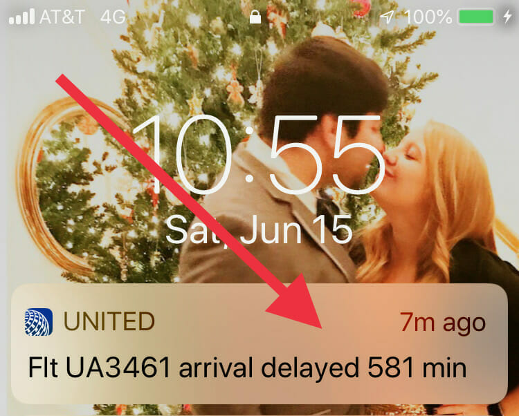 28122a58471e9 THIS. This could go wrong. 581 minutes = just under ten hours late. And of  course by the time we heard that her plane had turned around and gone back  to its ...
