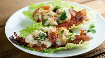 lobster bacon wraps recipe