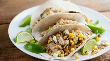 how to make street cron chicken tacos