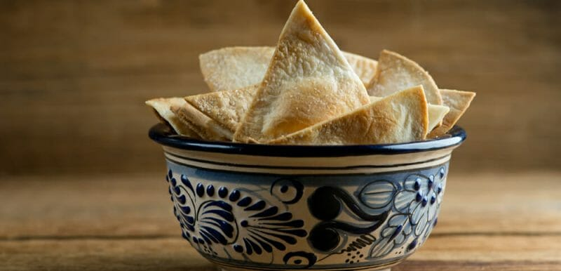 easy homemade tortilla chips