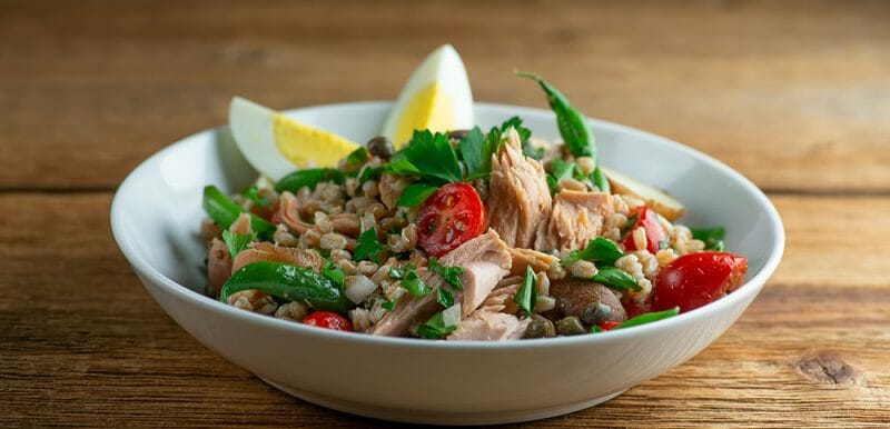 Tuna Nicoise Grain Bowl