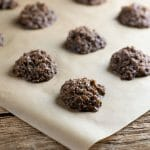 easy chocolate haystack cookies