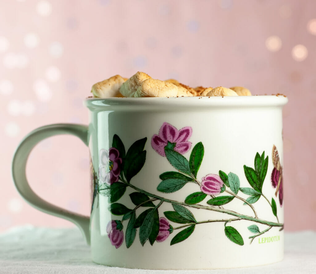 Baked Hot Chocolate Mugs