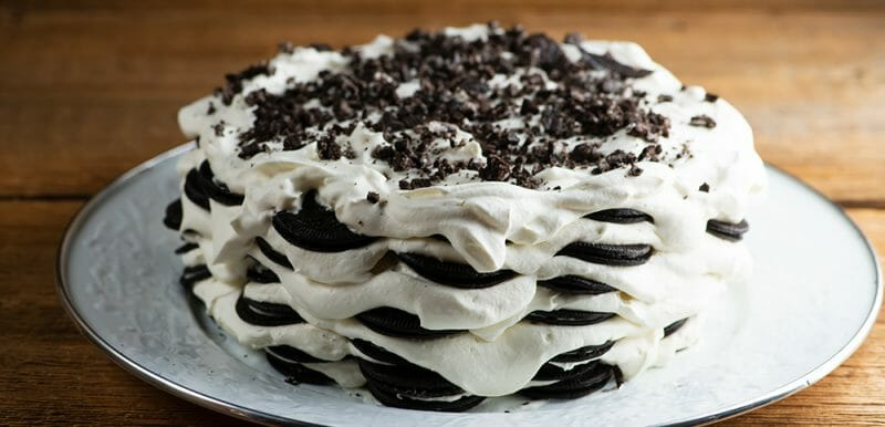 Oreo Chocolate Icebox Cake