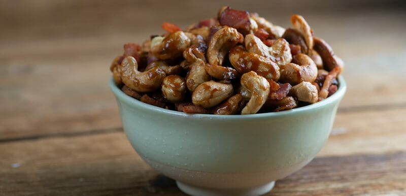 brown sugar bacon cashews